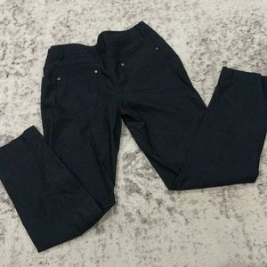 89th & Madison blue lightweight stretch pants